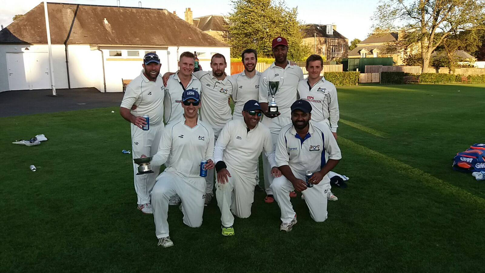 Parks Trophy 2017 Winners - Team Photo